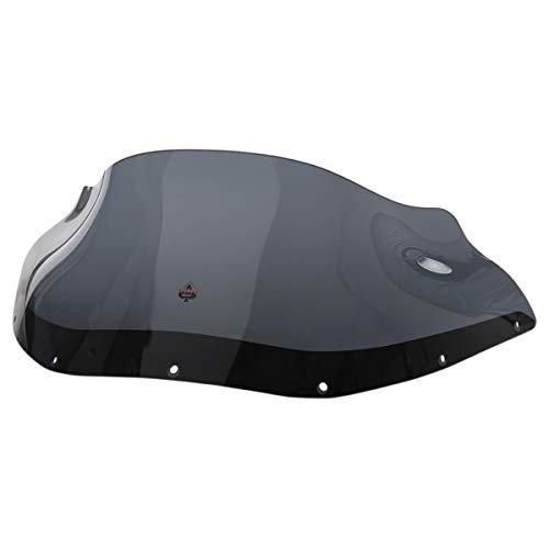 Klock Werks KW05010500 9in. Flare Windshield for FXRP - Dark Smoke (Klock Flare Werks Windshield)