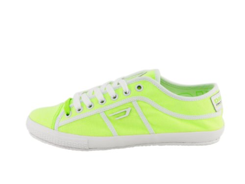 DIESEL - scarpe giallo fluo (QTW-271-D) - sneakers basse, moda fashion