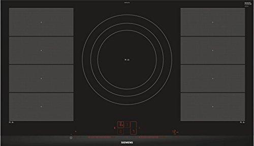 Siemens EX975LVV1E hobs Negro Integrado Con - Placa (Negro, Integrado, Con placa de inducción, Cerámico, 2200 W, Alrededor)
