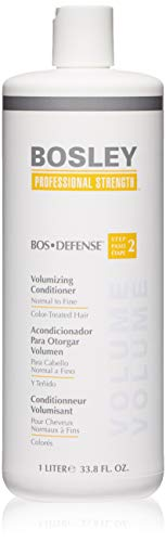 Normal Hair Conditioner - Bosley Professional Strength BOSDefense Volumizing Conditioner for Normal to Fine Hair