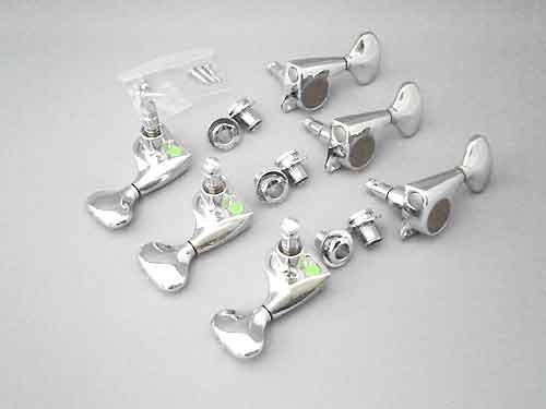 (GOTOH SGL-510-MG-L5 Chrome 3+3 Locking Tuners/Magnum Lock (3 Per Side))