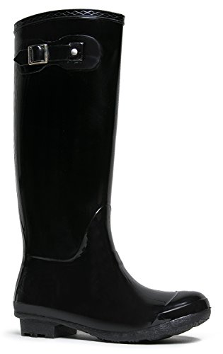 Bamboo Women Padinton-01 Boots Black Jelly size US 8 (Old West Outfit)