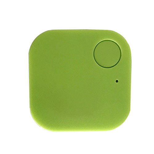 Blueis Car GPS Tracker Kids Pets Wallet Keys Alarm Locator Realtime Finder Tracker (Green)