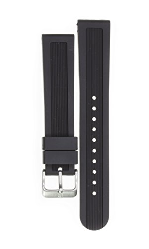 Victorinox Swiss Army Dive Master Black Soft Rubber Strap Diver Watch Band 22mm X1 K
