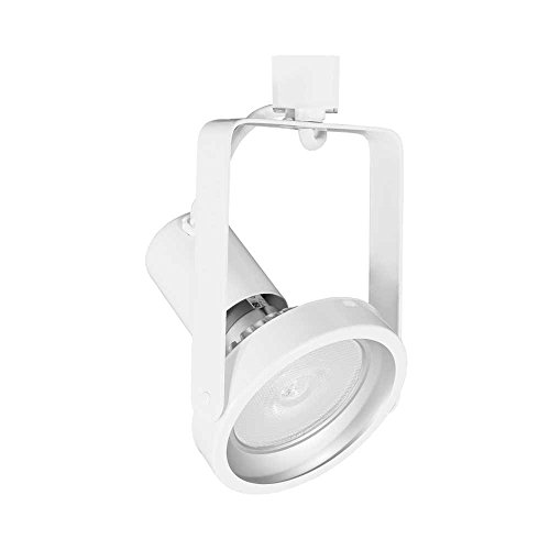 Jesco Lighting H2HV238WT 1-Light Par38 Gimbal Line Voltage Track Head, White