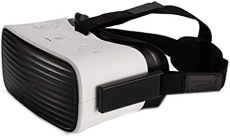 バーチャルリアリティのメガネ3D,3Dメガネバーチャルメガネヘッドマウント型wifiライブムービープレーヤー映画/ゲームに適しています。,White