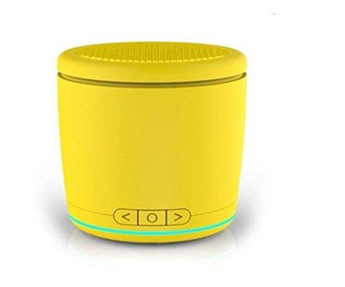 M116Ultra-portátil Mini Altavoz inalámbrico Bluetooth by greenmarkets, Amarillo