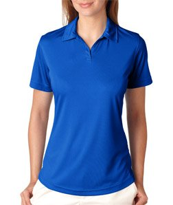 UltraClub Ladies Sport Performance Interlock Polo Shirt. 8425L - Royal 8425L XL