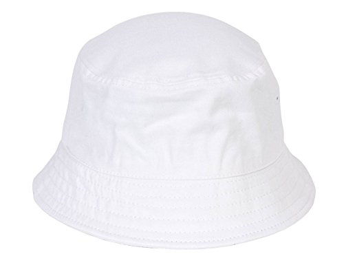 - TOP HEADWEAR TopHeadwear Blank Outdoor Bucket Hat, White L/XL