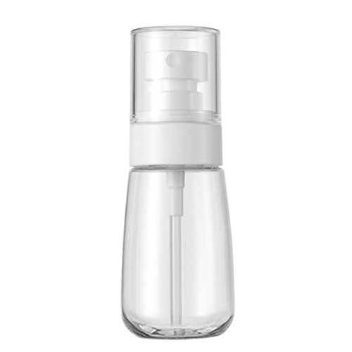 Materials Recyclable (HaloVa Spray Bottle, PETG Materials Plastic Bottle, Leakproof Dustproof Small Fine Mist Bottle for Cleaning Travel Essential Oils Perfume Makeup Remover, 2 Ounces)