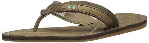 Brown Hearthstone Tropicflo brilliance Thong Leather Under Armour bay Women's XnaWRX0xC