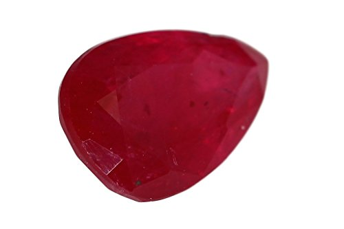 Rubis traité du Mozambique de 1,98 carat 9,4 x 6,1 x 3,8 mm
