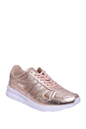 Women's Classics Gold Rose Gola Metallic Relay Trainer zACwx7q