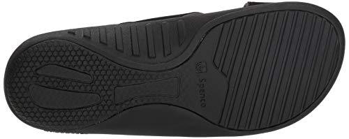 Spenco Men's Kholo Plus Slide Sandal, Carbon/Pewter, 14 Medium US by Spenco (Image #3)