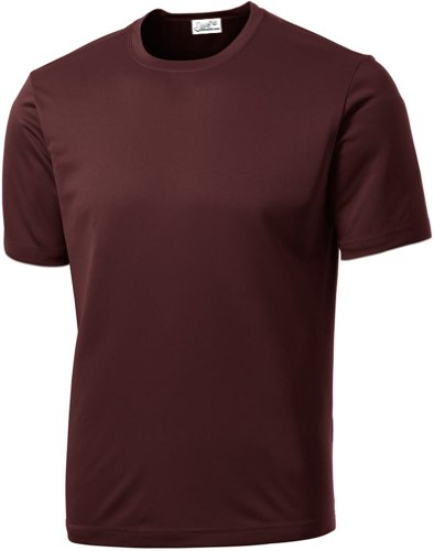 Joe's USA Men's Athletic All Sport Training T-Shirt ,Maroon ,XXX-Large ()