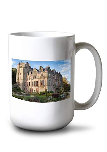- Lantern Press Ireland - Belfast Castle - Photography A-92079 (15oz White Ceramic Mug)