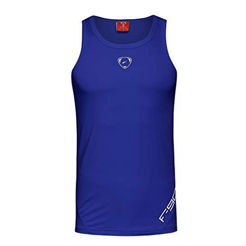 - iHPH7 Vest Tank Men Tank Tops Casual Tees Sleeveless T-Shirt Fashion Men Sexy Slim Printed Sport Sleeveless Shirts Tee Vest Tank XL Purple