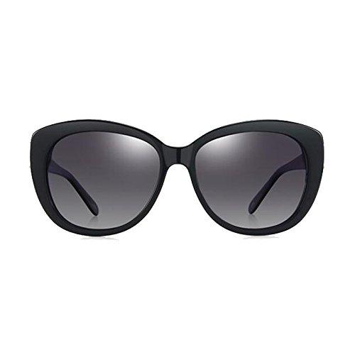 d6770f72821ef WLHW Gafas de sol Mujer Mujer Polarizadas Decorativas Ocio Defensa UVA UVB  Anti-UV Protección