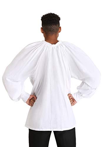 Fun Costumes Renaissance Fair Men's Peasant Shirt X-Small White]()