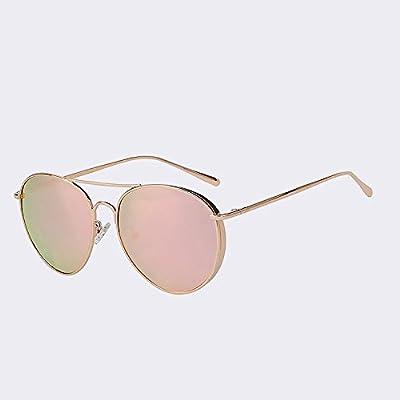 TIANLIANG04 Vintage HD polarisants Lunettes de soleil femme Hommes de la mode des lunettes de pilote Guide de haute qualité UV400 Lunettes
