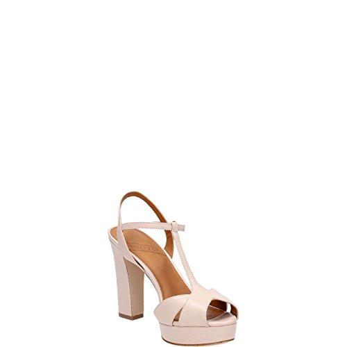 cinturino alla FOR Donna regolabile Nude caviglia pelle WHAT alto in sandalo Calzature qzEgw0q