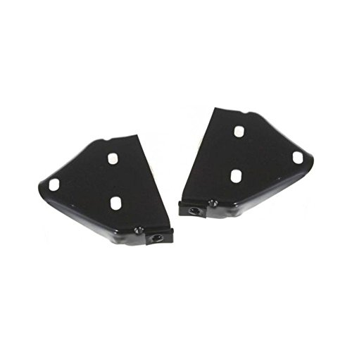 Bumper Bracket compatible with Jeep Cherokee 97 Front Right and Left Side Set of 2 Steel