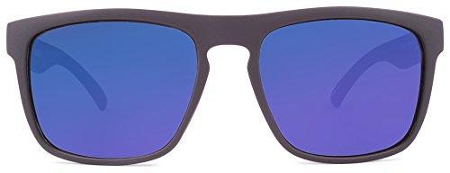 KREEDOM Nostalgic Sunglasses, Matte Black, One ()