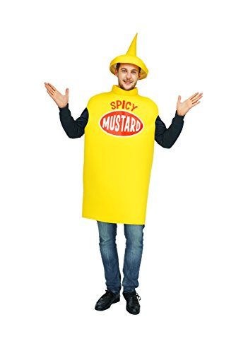 flatwhite Adult Spicy Mustard Costume One Size