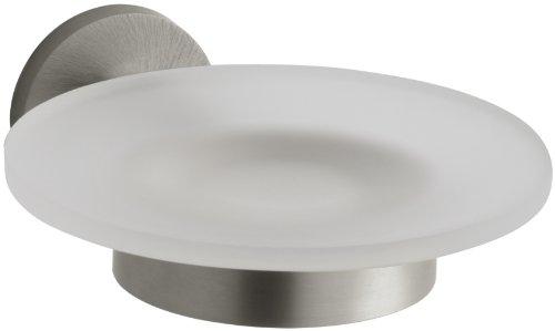 Stillness Soap Dish and Holder - Finish: Vibrant Brushed Nic