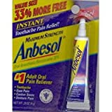 Anbesol Gel Maximum Strength 0.33 oz