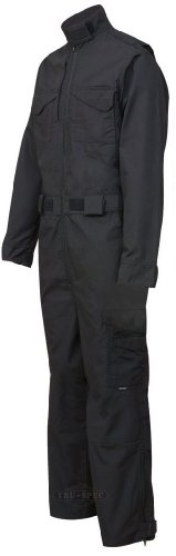 TRU-SPEC 2690005 24-7 Tactical Jumpsuit Black Large-Regular