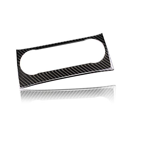 hors Carbon Fiber Center Console Dashboard Air Conditioning Control Button Frame Decal Cover Trim for Mercedes Benz C Class C180 C200 C220 C250 W204 2010-2014 (Classic) ()