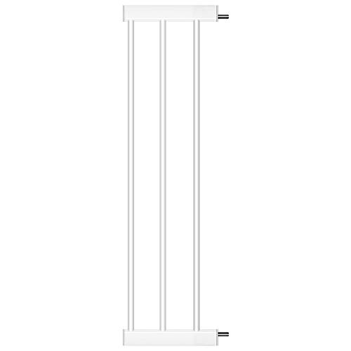 (Cumbor Baby Gate Extension,8.25-Inches Fits All Cumbor Auto Close Safety Baby Gate,White)