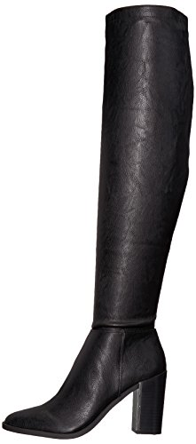 Nine West Women's Wiseplay Synthetic Knee High Boot, Black Synthetic, 10.5 Medium US by Nine West (Image #5)