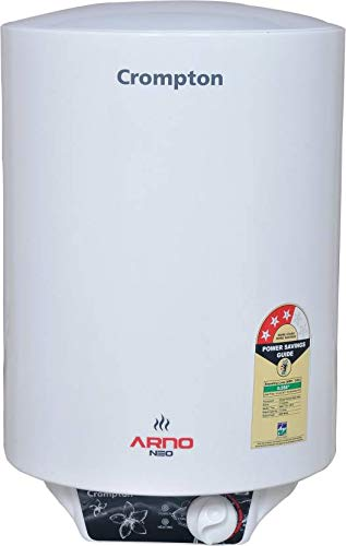 Buy Crompton 25 L Storage Water Geyser (White, Arno Neo 1525