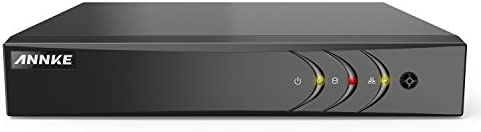 ANNKE 16-Channel HD-TVI 1080N Security Video DVR, H.264 video Compression for Bandwidth Efficiency, HDMI and VGA Outputs both Support Up to 1080P, NO HDD