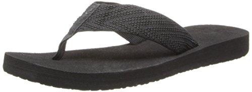 Reef Women's Sandy Love Flip Flop,Black/Black,10 M US