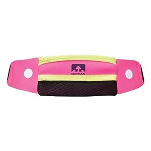 Nathan 5K Belt, Floro Fuchsia, One Size