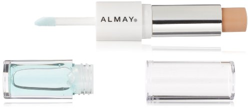 ALMAY Clear Complexion Concealer plus Treatment Gel, Light, 0.15 oz . / .08 fl. oz.