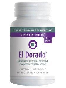 El Dorado 60 VegiCaps by D'Adamo Personalized Nutrition by D'Adamo Personalized Nutrition