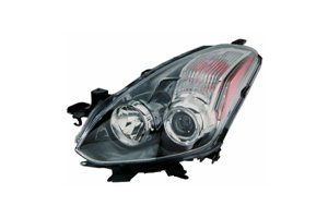 10 Nissan Altima Coupe - Depo 315-1176R-AF7 Headlight Assembly (NISSAN ALTIMA COUPE 10-13 HALOGEN PASSENGER SIDE NSF)
