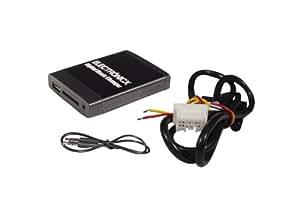 Adaptador de radio para coche USB SD AUX MP3 CD para Nissan Infiniti Almera Almera Tino Murano Navara Note Pathfinder