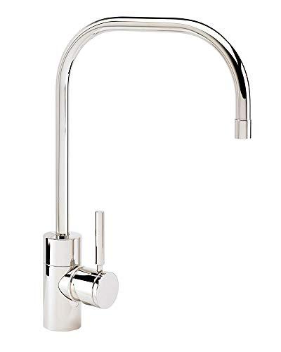Waterstone 3825-AP Fulton Single Handle Kitchen Faucet, Antique (Pewter California Faucet)