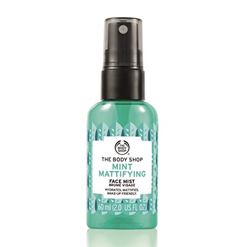 The Body Shop Mint Mattifying Face Mist, 2 Fl Oz (Vegan) (The Body Shop Vitamin E Face Mist)