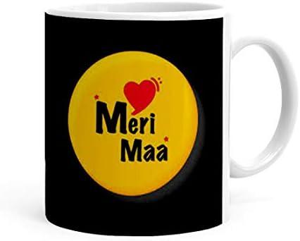 Buy Khakee Meri maa Theme Ceramic Coffee Mug (325 ml