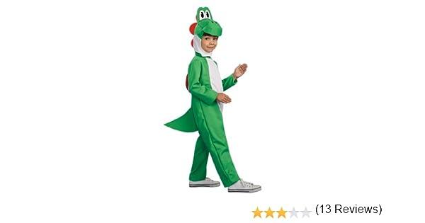 Brandson Sale RubieS - Disfraz Infantil de Yoshi de Super Mario ...