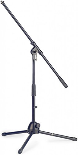 (Stagg MIS-0804BK Low Profile Microphone Boom Stand)