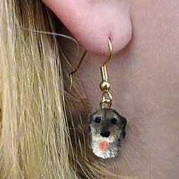 Conversation Concepts Irish Wolfhound Earrings Hanging - Irish Wolfhound Earrings