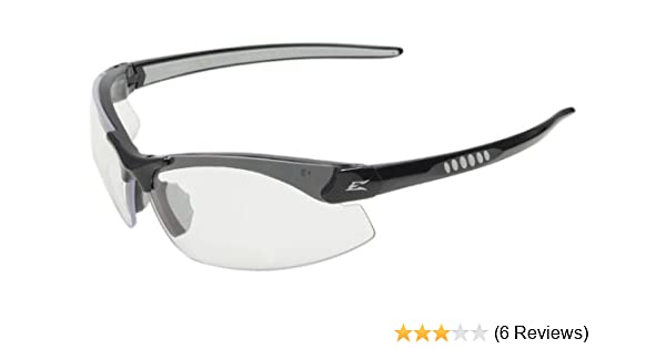 d485299275d Edge Eyewear DZ111-2.0 Zorge Magnifier with Black with Clear Lens 2.0  Magnification - Clear Safety Glasses - Amazon.com