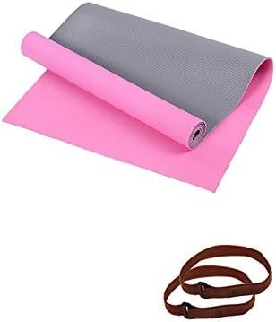 Yoga Mat Natural Rubber Mat para Principiantes Mat (4 ...